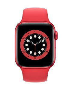 Apple Watch Series 6 40mm Red Alu PRODUCT(RED) Band