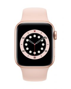 Apple Watch Series 6 40mm Gold Alu Pink Sand Band
