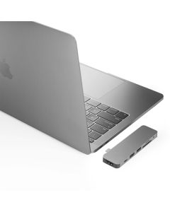 HyperDrive Solo for USB-C MacBook Pro (Space Grey)