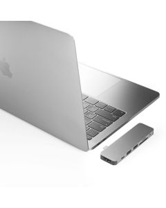 HyperDrive Solo for USB-C MacBook Pro (Silver)