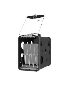 Lock n Charge CarryOn 5 Bay Charging Station - Black