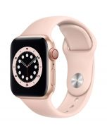 Apple Watch Series 6 Cellular 40mm Gold Alu Pink Sand Band