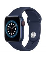 Apple Watch Series 6 Cellular 40mm Blue Alu Deep Navy Band