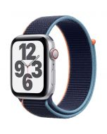 Apple Watch SE Cellular 44mm Silver Alu Deep Navy Loop