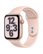 Apple Watch SE Cellular 44mm Gold Alu Pink Sand Band