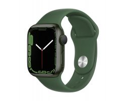 Apple Watch Series 7 in Green with Clover Band