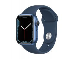 Apple Watch Series 7 in Blue with Abyss Blue Band