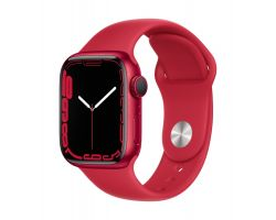 Apple Watch Series 7 in  (PRODUCT)RED with (PRODUCT)RED Band