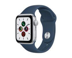 Apple Watch SE 40mm Silver Alu Abyss Blue Band