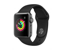 Apple Watch Series 3 in Grey with Black Band