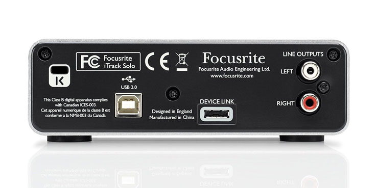 Focusrite Itrack Solo Review
