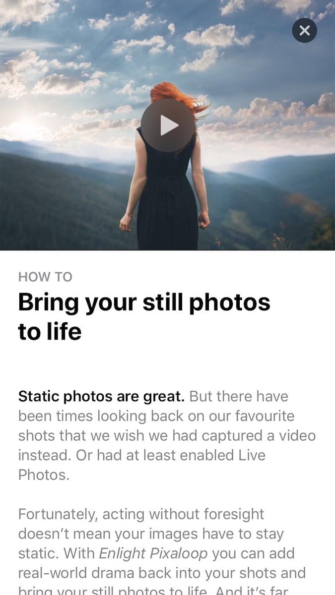 iOS App Store Article