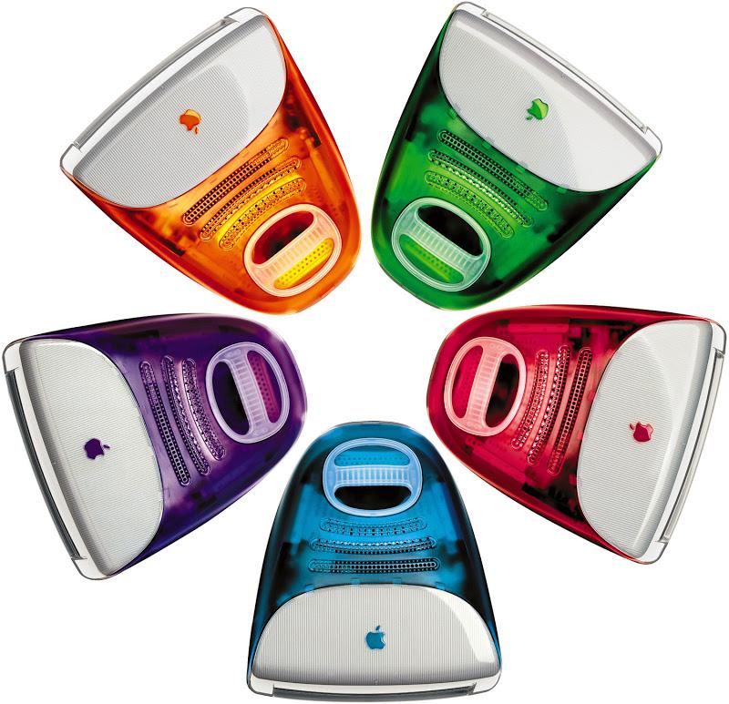 Rainbow iMac range