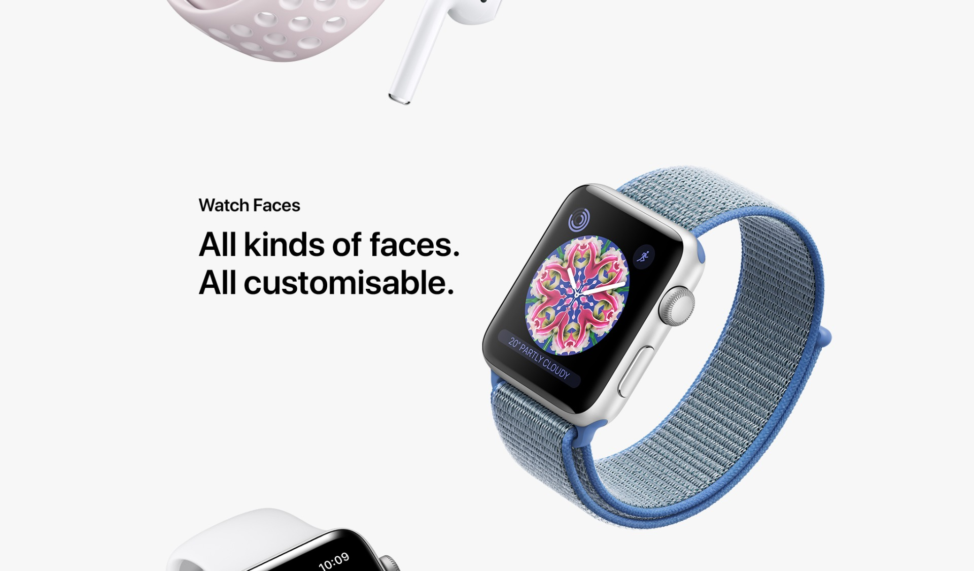 Apple Watch Series 3. Elevated in every way.