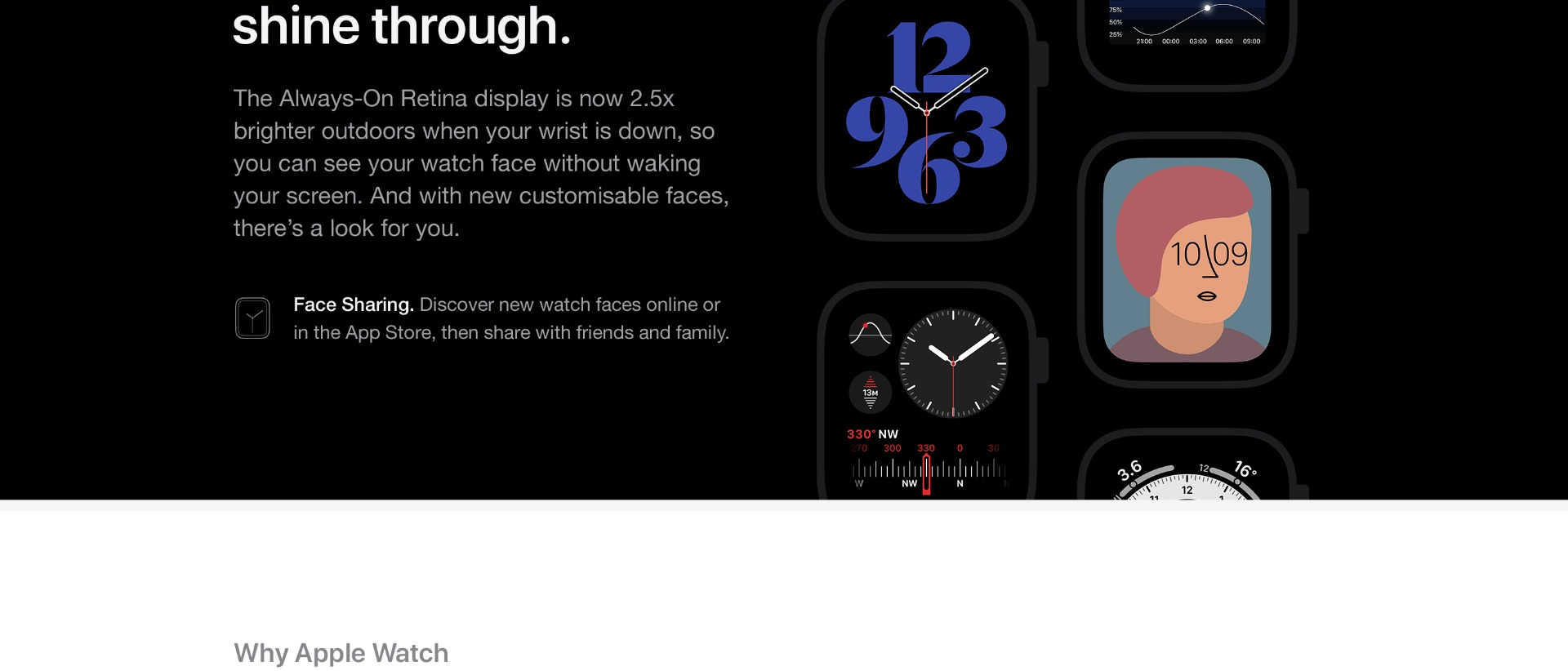 Apple Watch Series 6. The future of health is on your wrist.