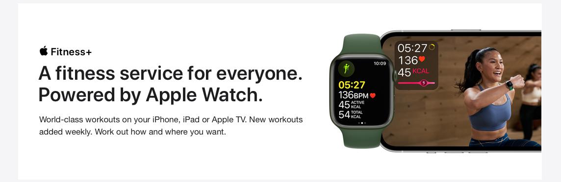Apple Watch Series 7. Full screen ahead.