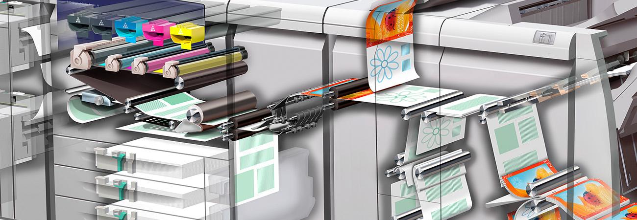 Xerox cutaway