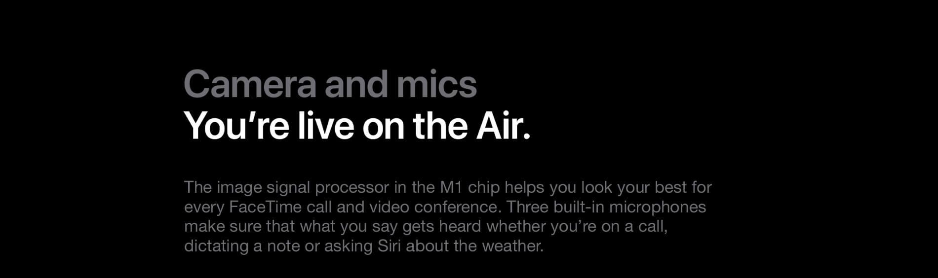 MacBook Air. Power. It's in the air.