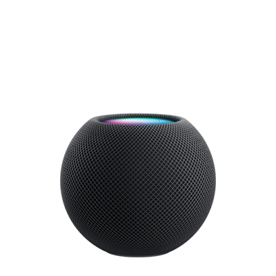 The NEW Apple HomePod mini. Both colours, in stock to buy now with FREE next working day delivery