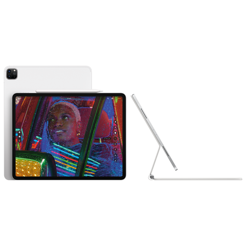 iPad Pro with Apple Magic Keyboard and Apple Pencil 2