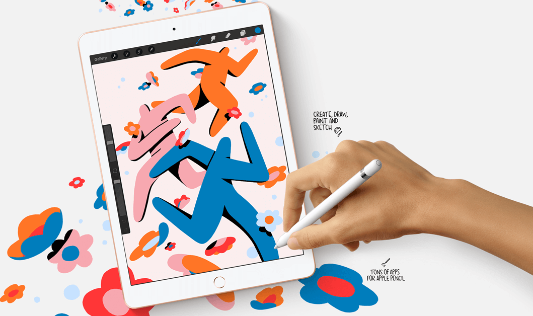 iPad. Delightfully capable. Surprisingly affordable.
