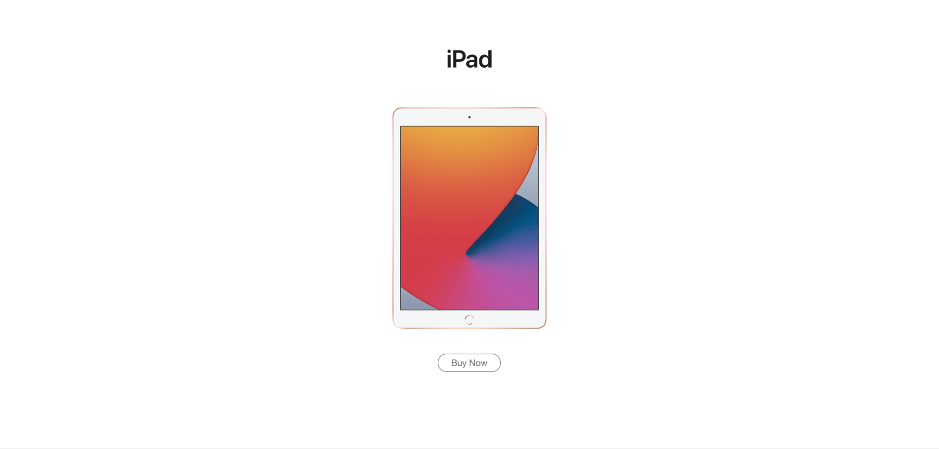 iPad. Buy now